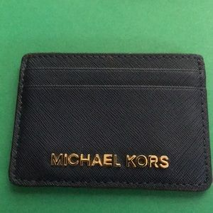 Michael Kors Leather Card Holder